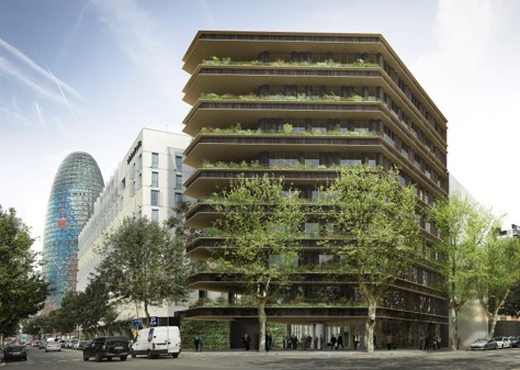 OFFICE BUILDING TANGER 73 BARCELONA